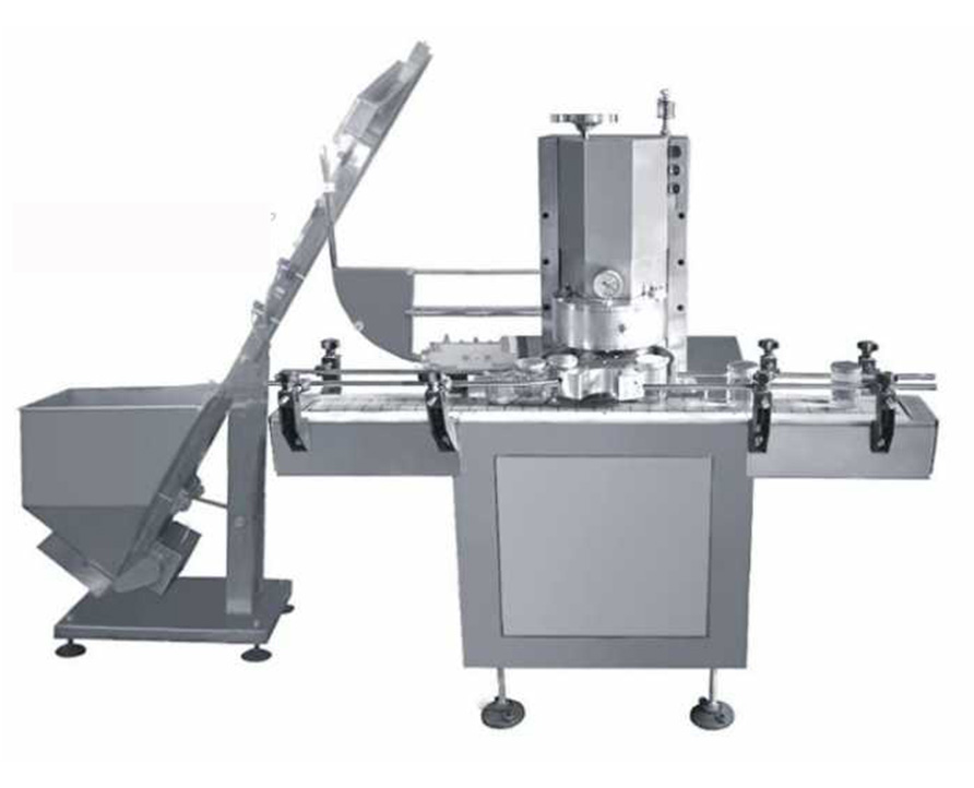 Rotary Vacuum Screw Capping Machine for Glass Can FH-RVS040
