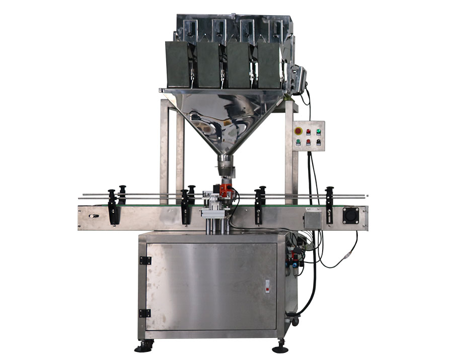 Solid Filling Machine (Linear 4 heads weigher) FH-SFL004