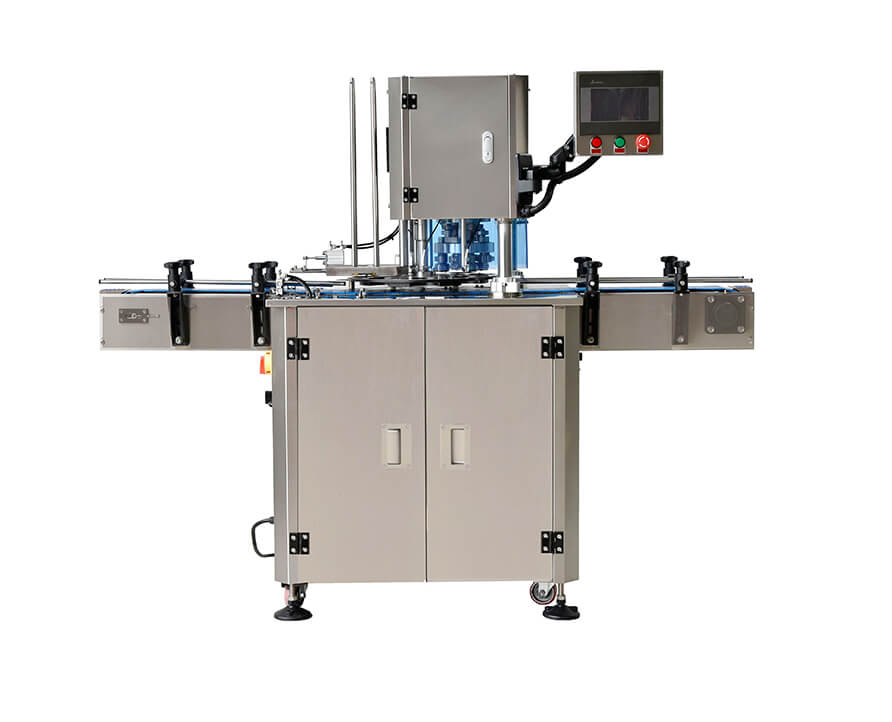 Automatic production line for cannabis can seaming machine can seamer  machine servo fixed speed sealing machine FH-FLV30