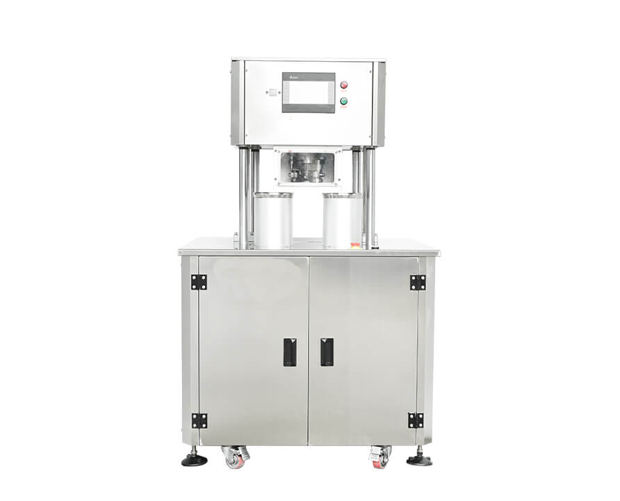 Vacuum Nitrogen Gas Flushing can sealing seaming  Machine  FH-SVC10