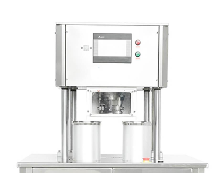 Vacuum Nitrogen Gas Flushing can sealing seaming  Machine  FH-SVC10