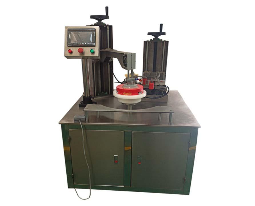 Semi automatic container tape around machine,tape seal machine for box